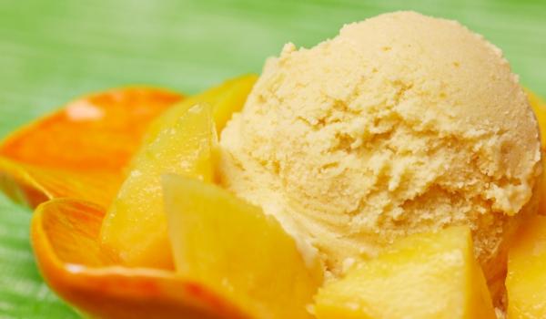 Мелба с манго