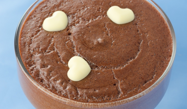 Пудинг с шоколад