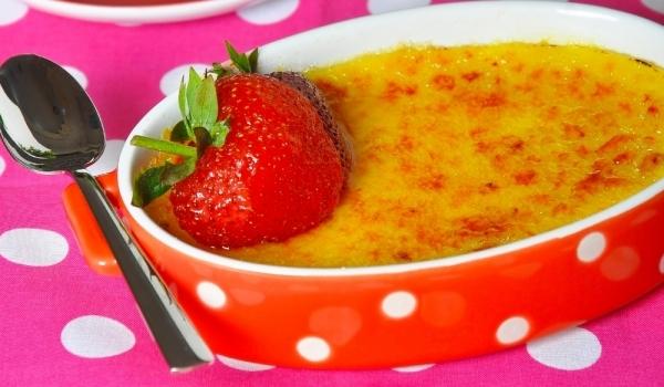 Диетично ягодово брюле