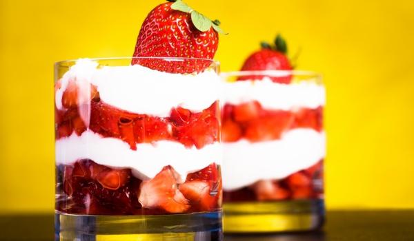 Ароматни ягоди с Маскарпоне