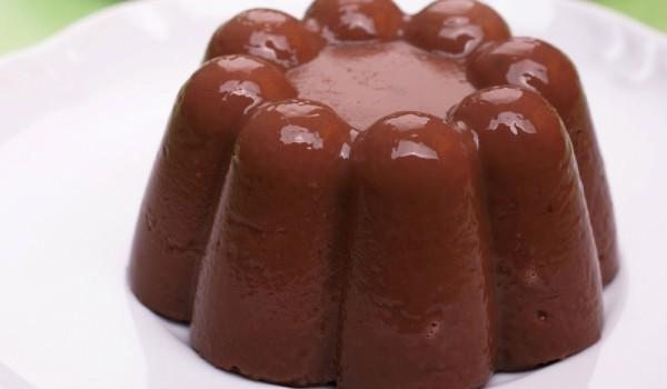 Шоколадов крем - желе