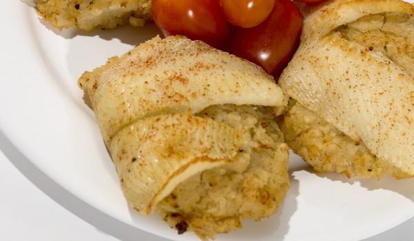 Пилешки специалитет в бутер тесто