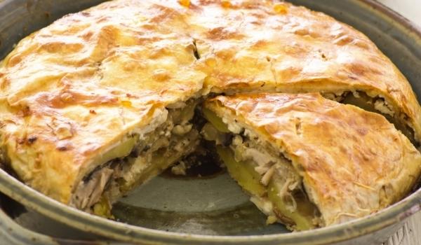 Пирог със зеле