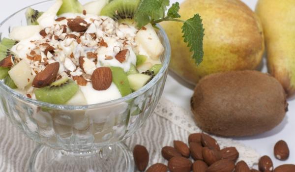 Лесен десерт с киви и маскарпоне