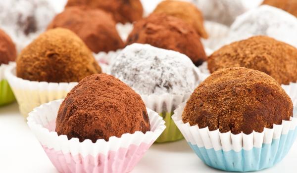 Лесни шоколадови трюфели