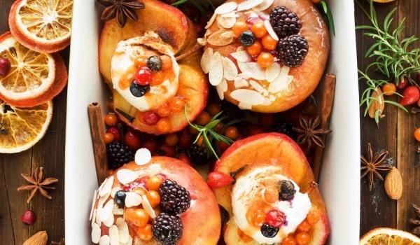 Печени ябълки по беларуски