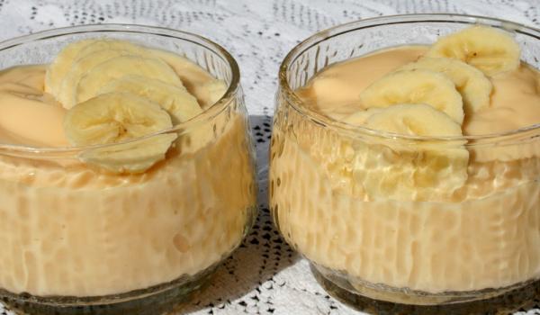 Десерт Бананов рай