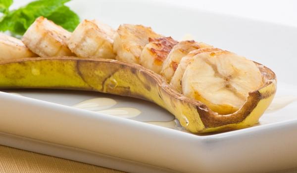 Кисело-сладки банани с мента