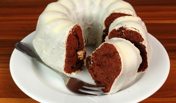 Шоколадов кекс с грис