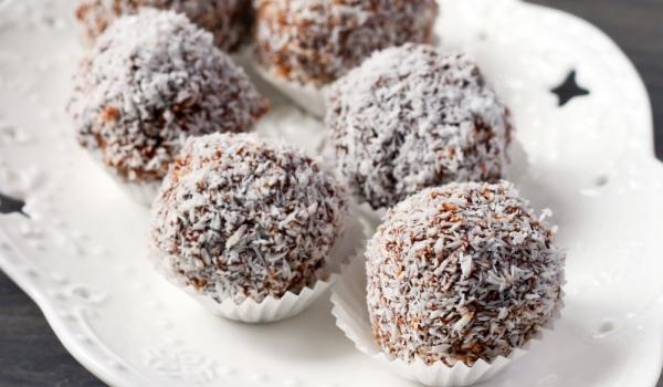 Бонбони с елда и сусамов тахан