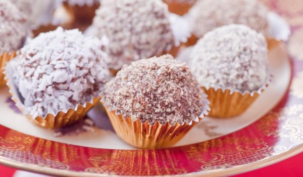 Шоколадови бонбони с джинджифил