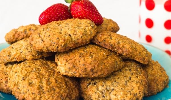 Здравословни бисквити с чия