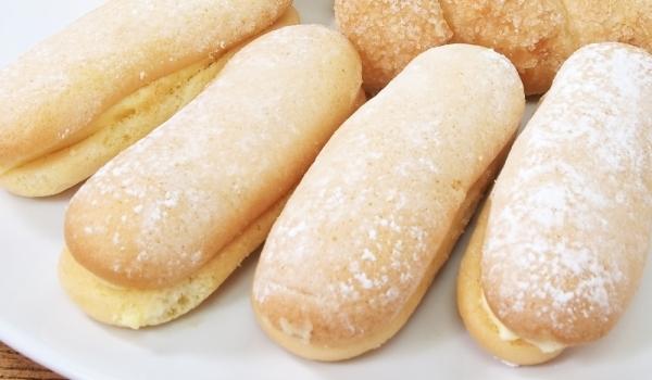 Бишкотени сладки с глазура
