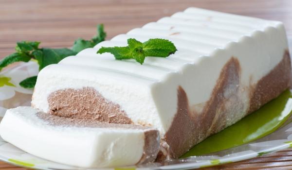 Сладоледен шоколадов терин
