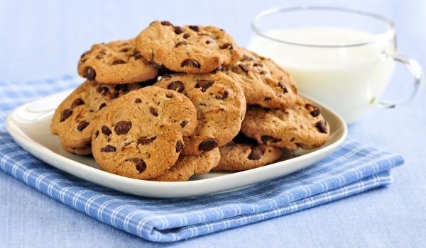 Американски кукита с парченца шоколад