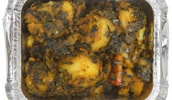 Картофи с коприва
