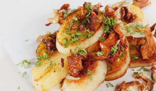 Картофи с праз