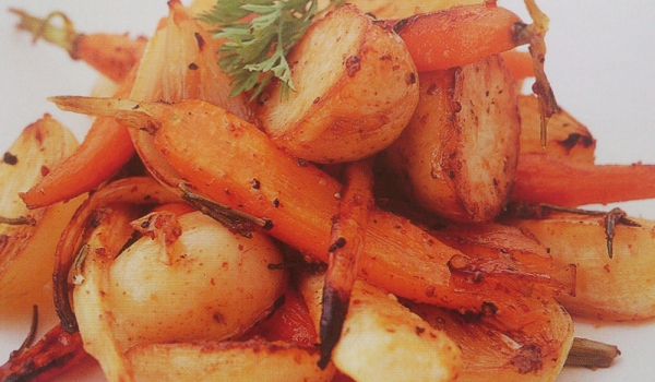 Печени кореноплодни зеленчуци