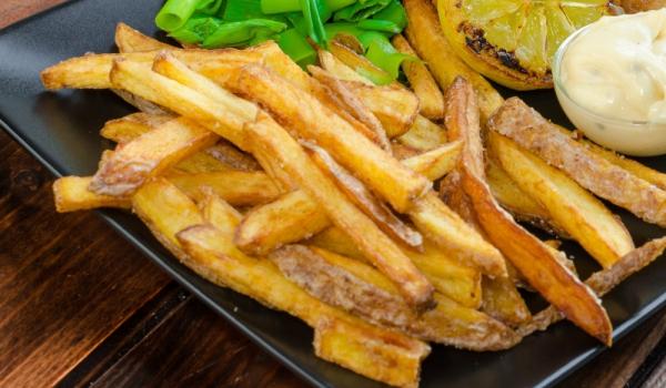 Задушени картофени ленти по китайски