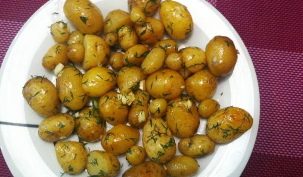 Бързи пролетни картофки