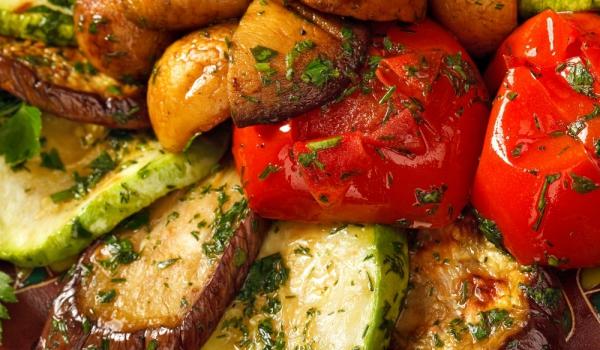 Зеленчуци на фурна