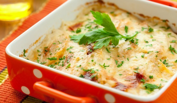 Картофи и зеленчуци на фурна