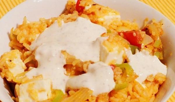 Ориз със сирене и риган