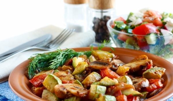 Зеленчуци на грил със сос Айоли
