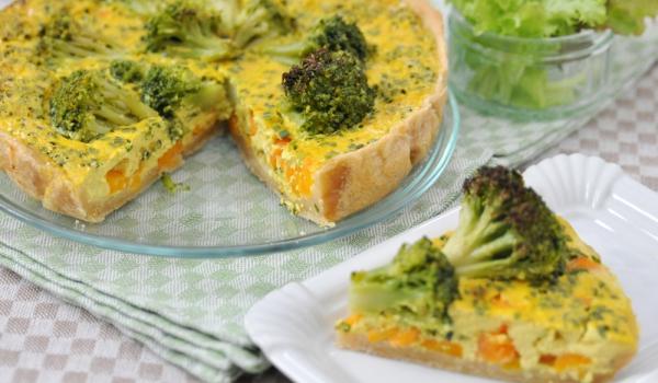 Киш с моркови и броколи