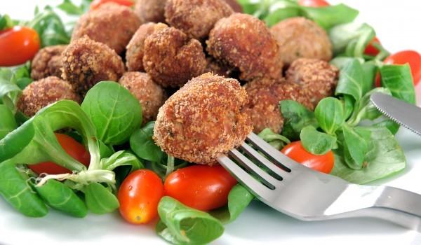 Зеленчукови кюфтета на фурна