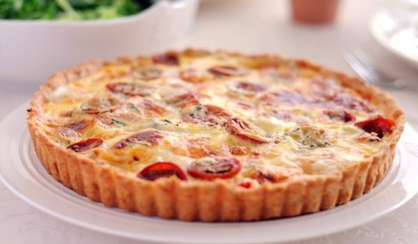 Пирог с домати