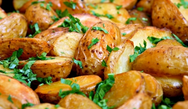 Задушени картофи