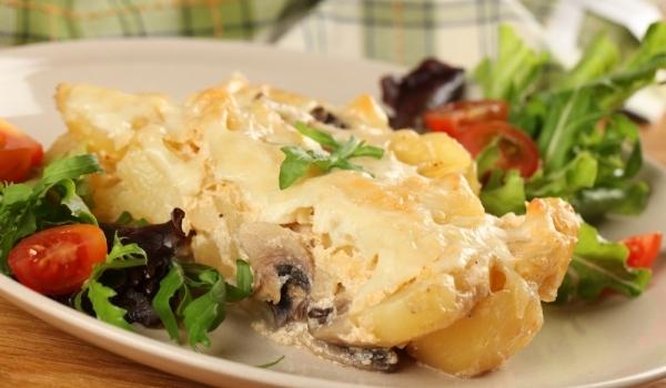 Мусака с гъби и картофи