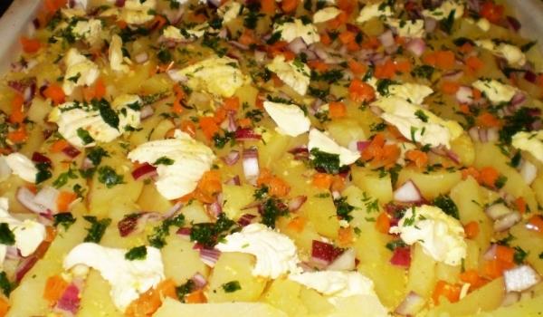 Задушени картофи на фурна