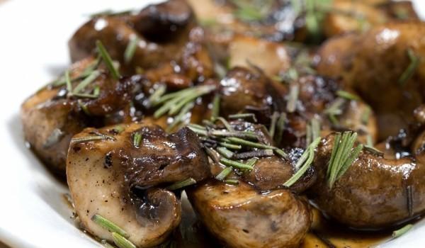 Пържени печурки с френски подправки