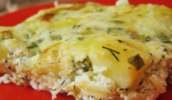 Картофи с лук и сметана