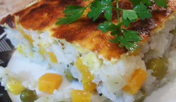 Мусака от ориз и зеленчуци