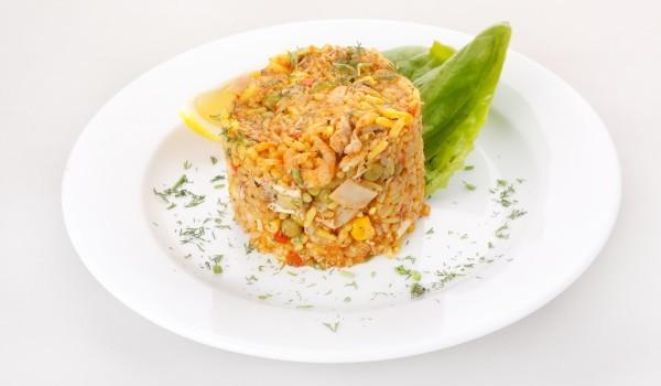 Варен ориз със зеленчуци