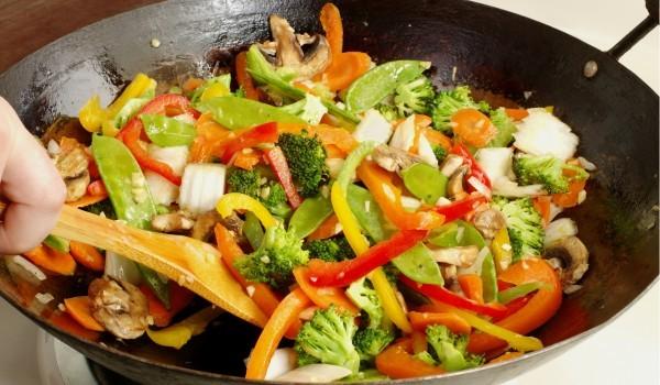 Зеленчуци в масло