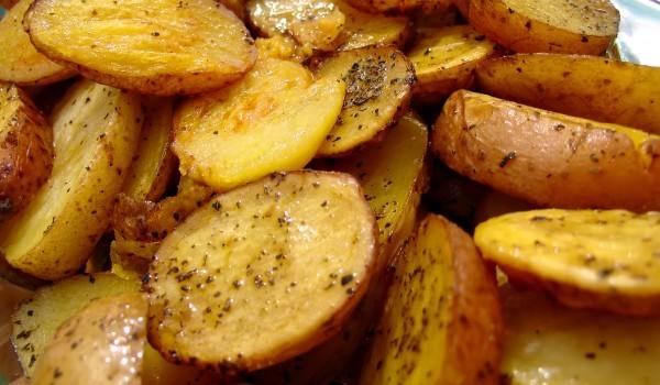 Печени картофи в плик