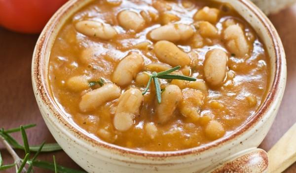 Вегетариански боб с къри
