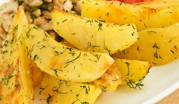 Бързи пикантни картофи