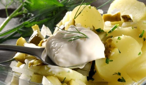 Картофи с майонеза