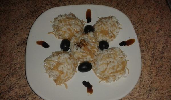 Пържен ориз с фиде