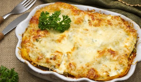 Зеленчукова лазаня по неаполитански