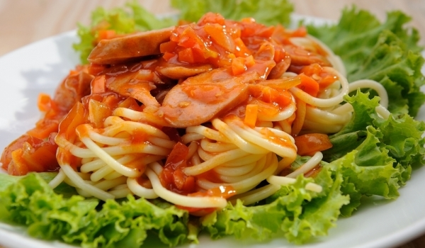 Уникални спагети Бързо, лесно, вкусно