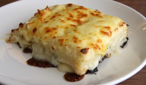 Лазаня със сирене