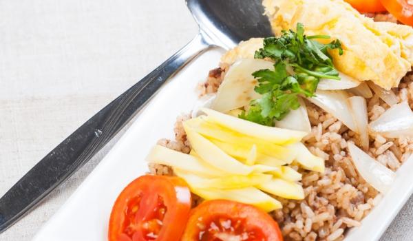 Мексиканска салата от пиле и манго