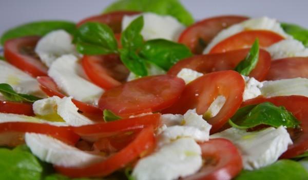 Зелена салата по италиански