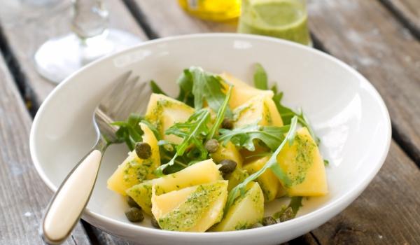 Картофена салата с рукола